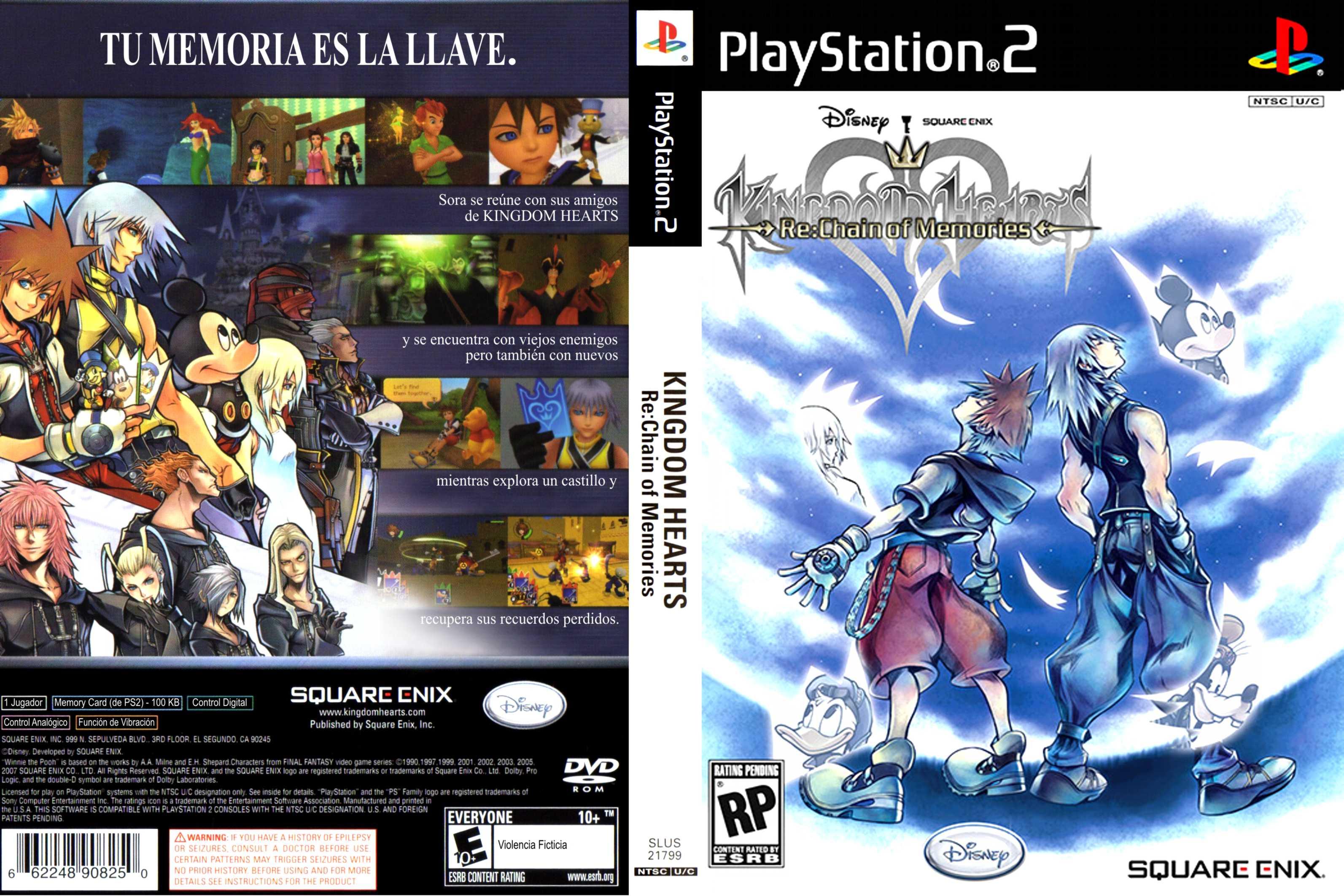 Platiniamo Kingdom Hearts Re Chain Of Memories 00 Carmelo 89